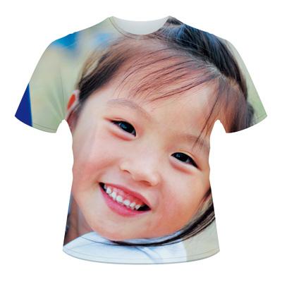 全面プリントTシャツの作成例:写真