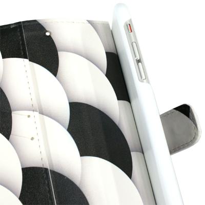 手帳型スマホケース内側の写真