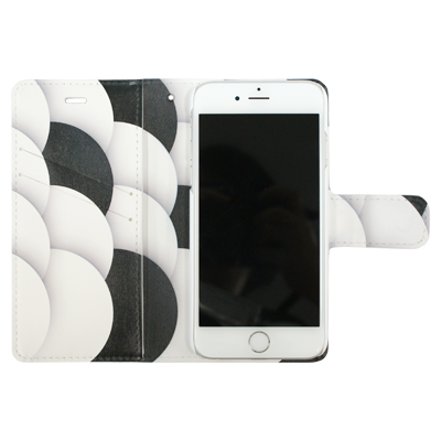 iPhone用手帳型スマホケース見本